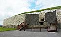 Newgrange, vchod do hrobky