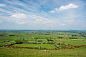 Zelené Irsko pod Loughcrew Hills