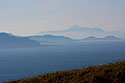Hora Croahg Patrick v mlhách
