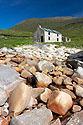 Opuštěný dům na ostrově Achill