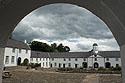 Castle Archdale, nádvoří zámku