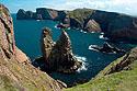 Špičaté skalní útesy