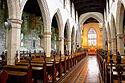 Interiér katedrály Svatého Kolumbána