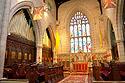 Kněžiště gotické katedrály