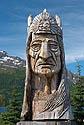 Starý indián ve Valdezu